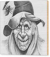 Halloween Weeotch Wood Print by Murphy Elliott