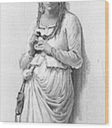 Hamlet: Ophelia Wood Print