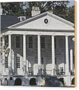 Hampton Plantation Wood Print by Paulette Thomas