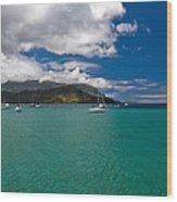 Hanalei Bay Kauai Wood Print