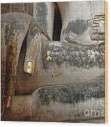 Hand Of Thai Buddha Wood Print