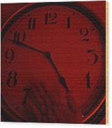 Hands Of Time Wood Print