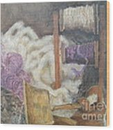 Handspun Wood Print by Delores Swanson