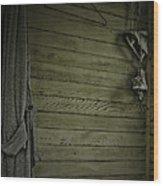 Hang Up  Wood Print