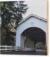 Hannah Bridge Wood Print