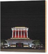 Hanoi Ho Chi Minh Mausoleum Wood Print