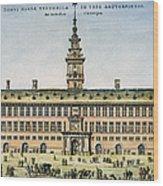 Hanseatic League, Antwerp Wood Print by Granger