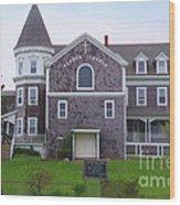 Harbor Church Wood Print