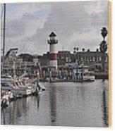 Harbor Lighthouse Wood Print