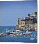 Harbor - North Coast Of Spain Wood Print