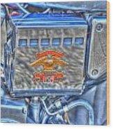 Harley Davidson 2 Wood Print