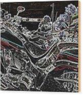 Harley Davidson Style 3 Wood Print