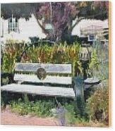 Harmony Gallery Garden Wood Print