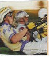 Harness Racing 13 Wood Print