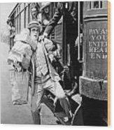 Harold Lloyd (1889-1971) Wood Print