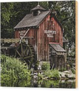 Harpers Mill Wood Print