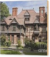 Harriet Beacher Stowe Home Wood Print