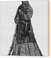 Harriet Tubman (c1823-1913) Wood Print