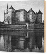 Hartenfels Castle Wood Print