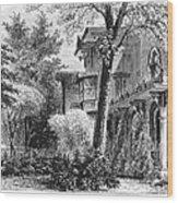Hartford: Armsear Mansion Wood Print