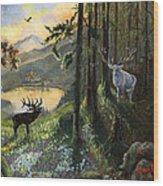 Harts Gambit Wood Print