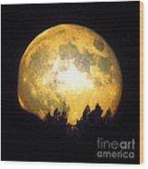 Harvest Moon 2012 Wood Print