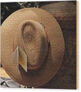 Hat For Sale - Sooc Wood Print