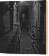 Haunted 1946 Battle Of Alcatraz Death Chamber Wood Print