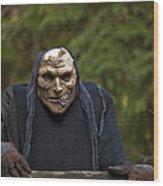 Haunted Goblin Wood Print