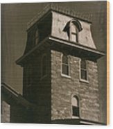 Haunted House 1 Wood Print