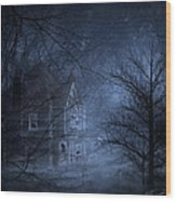 Haunted Place Wood Print
