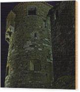 Haunted Tower Wood Print