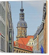 Hausmannsturm - Lookout Of A Castle With Stunning Views Wood Print by Christine Till