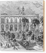 Havana: Plaza De Armas Wood Print
