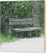 Have A Seat Wood Print