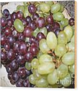Have Some Grapes Wood Print