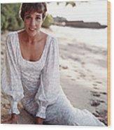 Hawaii, Julie Andrews, 1966 Wood Print by Everett
