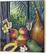 Hawaiian Still Life Wood Print by Anne Wertheim
