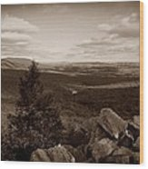 Hawk Mountain Sanctuary S Wood Print