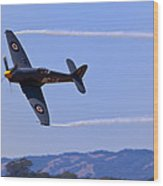Hawker Sea Fury Wood Print