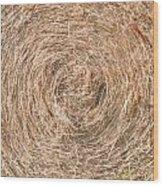 Hay  7207 Wood Print