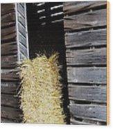 Hay-day Wood Print