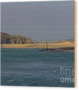 Hayle Harbour Wood Print