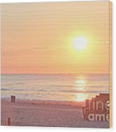 Hdr Beach Ocean Beaches Oceanview Scenic Sunrise Seaview Sea Photos Pictures Photo Wood Print