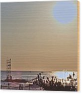 Hdr Seascape Oceanview Beach Beaches Summer Photos Pictures Photography Photo Pics Sea New Picture  Wood Print