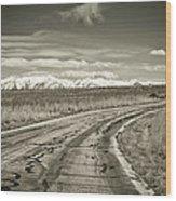 Heading West Wood Print