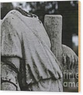 Headless Shepherd Wood Print