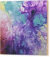 Healing Energies Wood Print