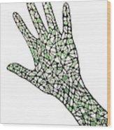 Healing Hands 1 Wood Print
