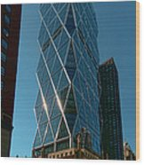 Hearst Building Wood Print